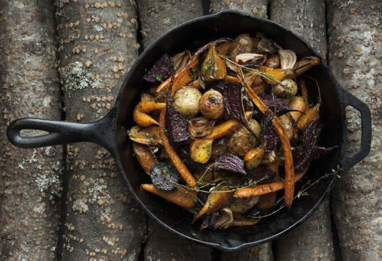 Stunning Side: Roasted Root Vegetables With Sage Butter