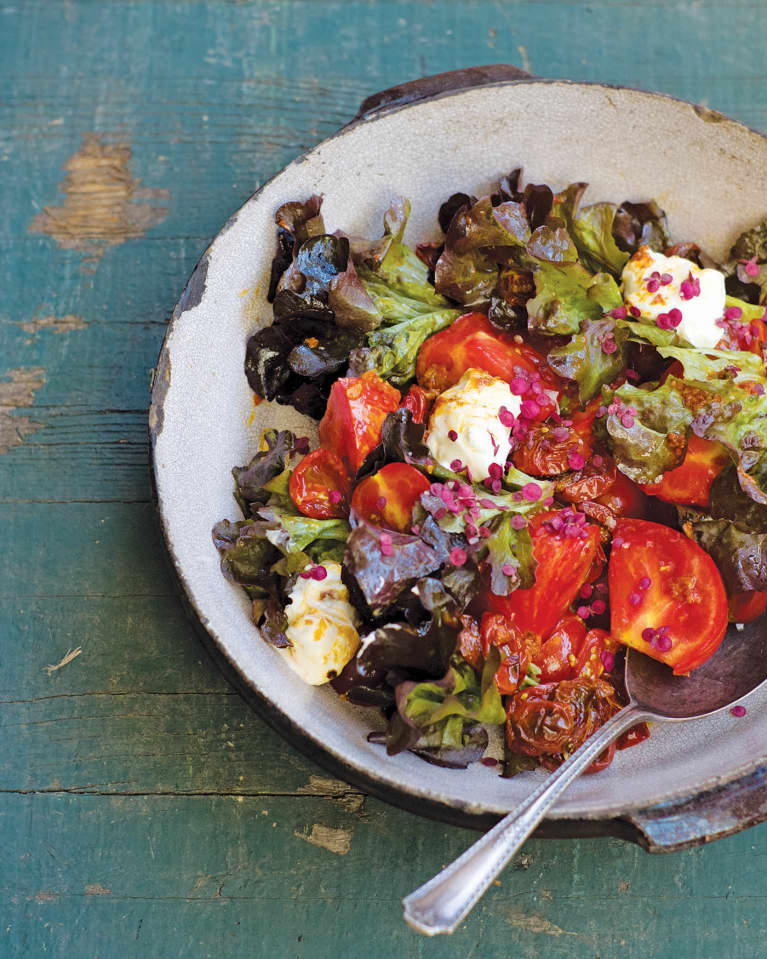 The Perfect End-Of-Summer Salad: Roasted Tomato Caprese
