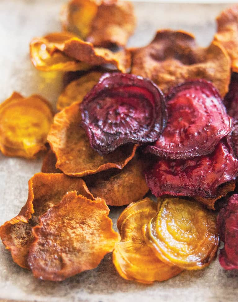 A Better Snack: Beet & Sweet Potato Chips