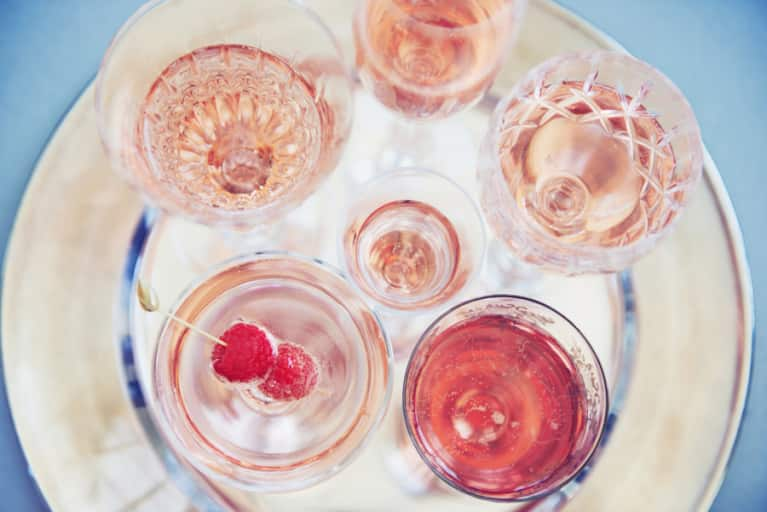 The Healthy Way To Drink Rosé All Day