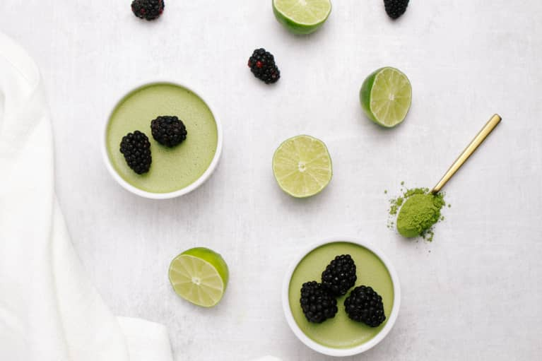 This Matcha Pudding May Help Fight Inflammation & Anxiety, According To An RD