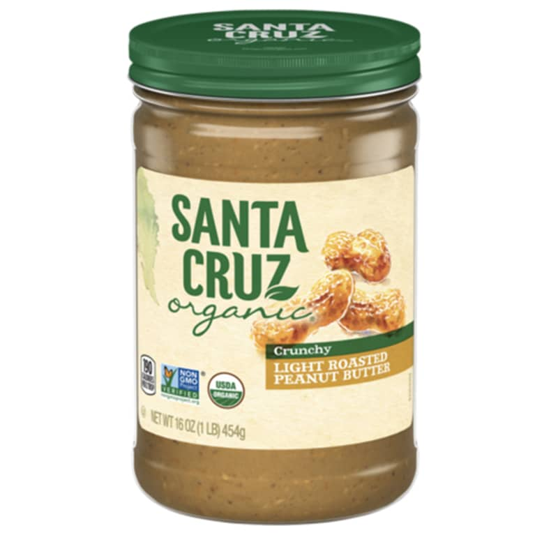 Santa Cruz Organics peanut butter