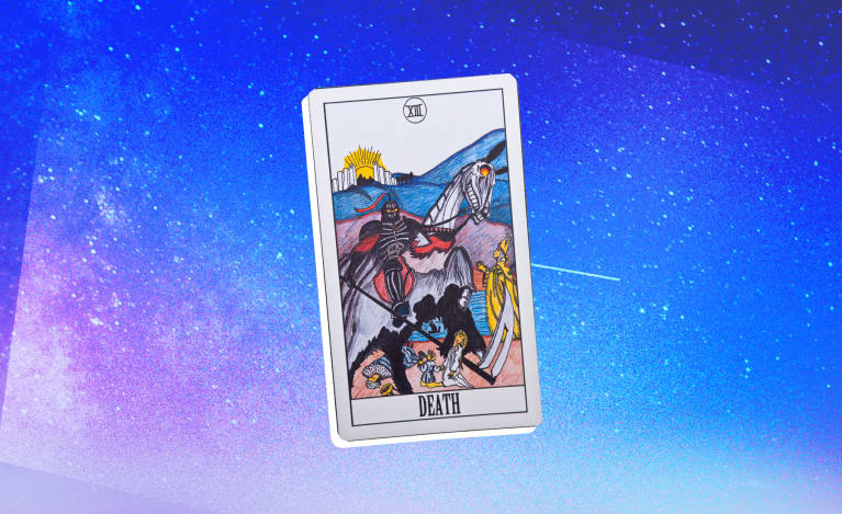 Pulled The Death Tarot Card? Here's What It Means For Life, Love & More