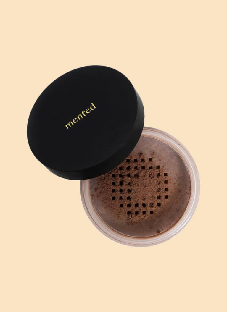 mented skin loose powder foundation