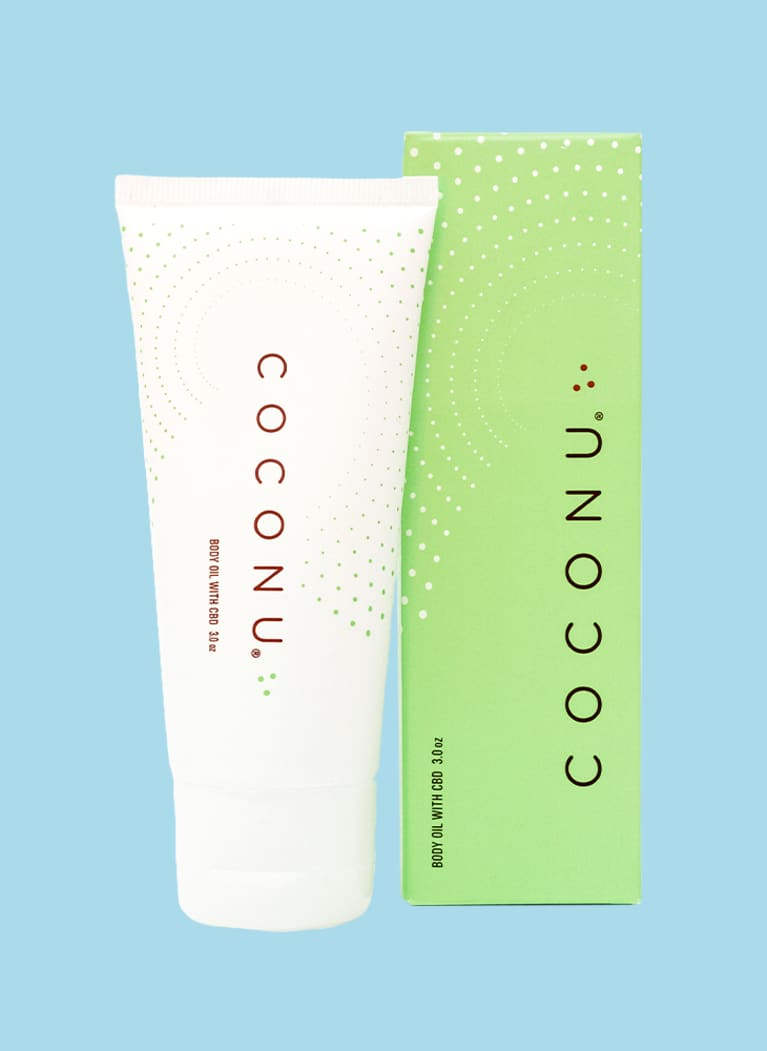 Coconu Hemp Infused Body Oil