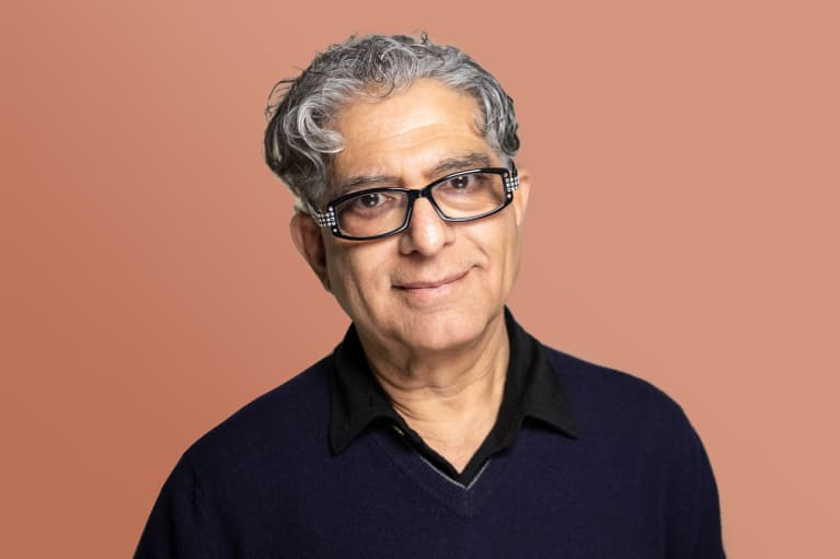 How Deepak Chopra Is Using This Time For A Spiritual Reset