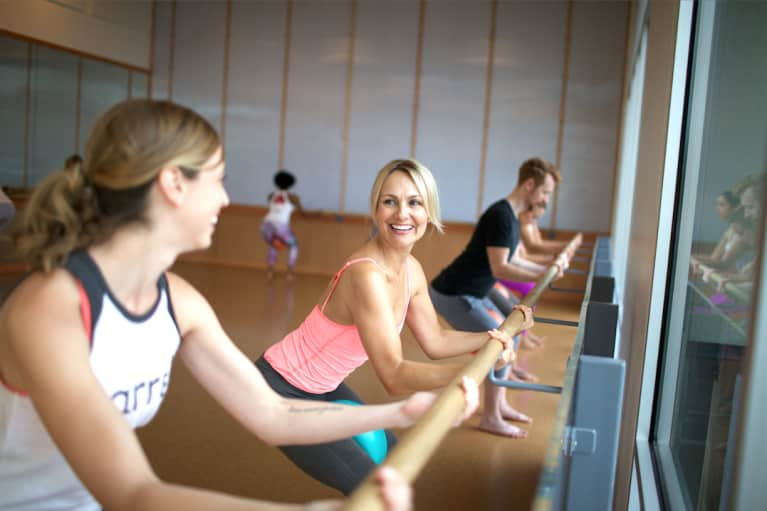 This 10-Minute Barre Sequence Will Tone Your Entire Body — No Props Required