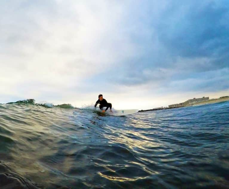 How This Surfer's Near-Death Experience Taught Her To Trust Her Intuition