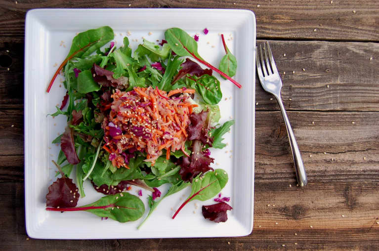 Perfect Salad Topping: Sesame & Citrus Slaw