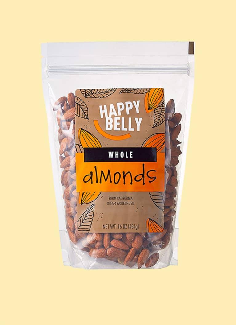 Travel packs of almonds