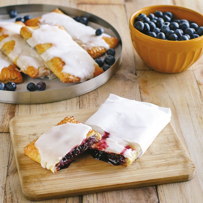 Keto Blueberry Toaster Pastries