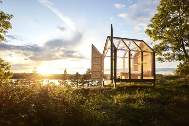How This Glass House Helps People Overcome Stress & Anxiety