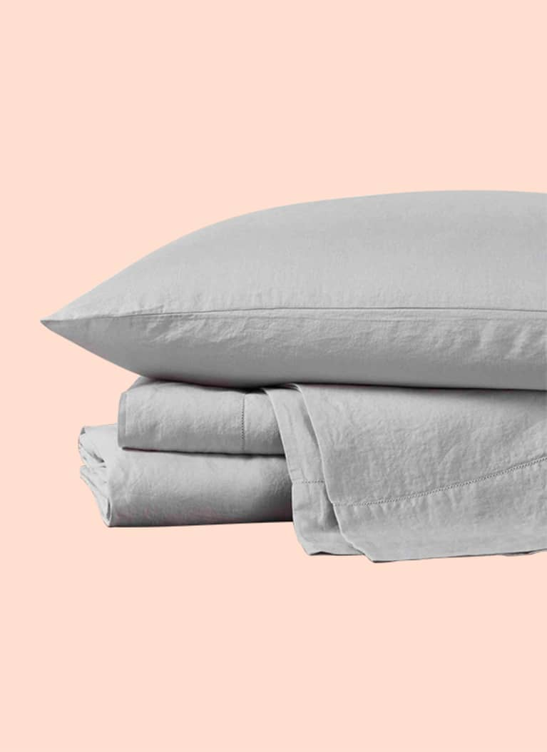 1. Organic Relaxed Linen Sheets from Coyuchi