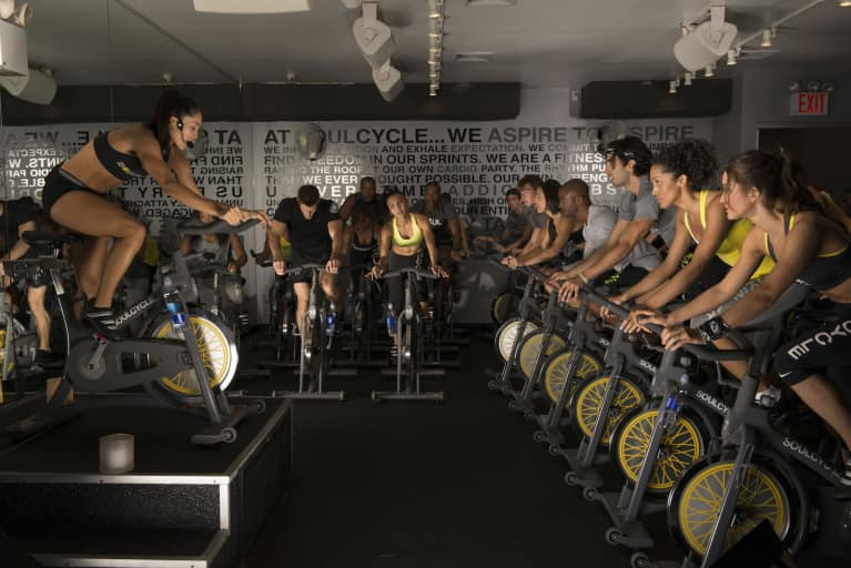 How To Recreate A Killer SoulCycle Class At Home