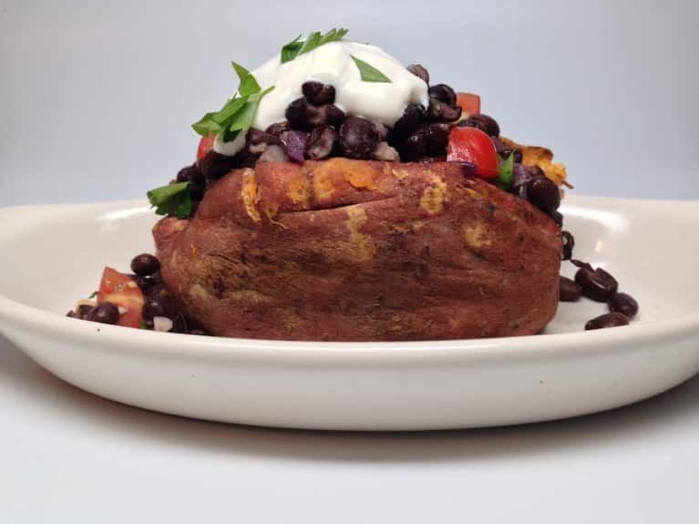 Southwestern-Style Stuffed Sweet Potatoes