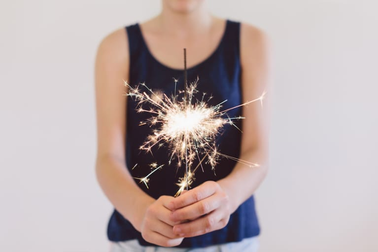 A New Year's Eve Ritual To Manifest Your Best Year Yet