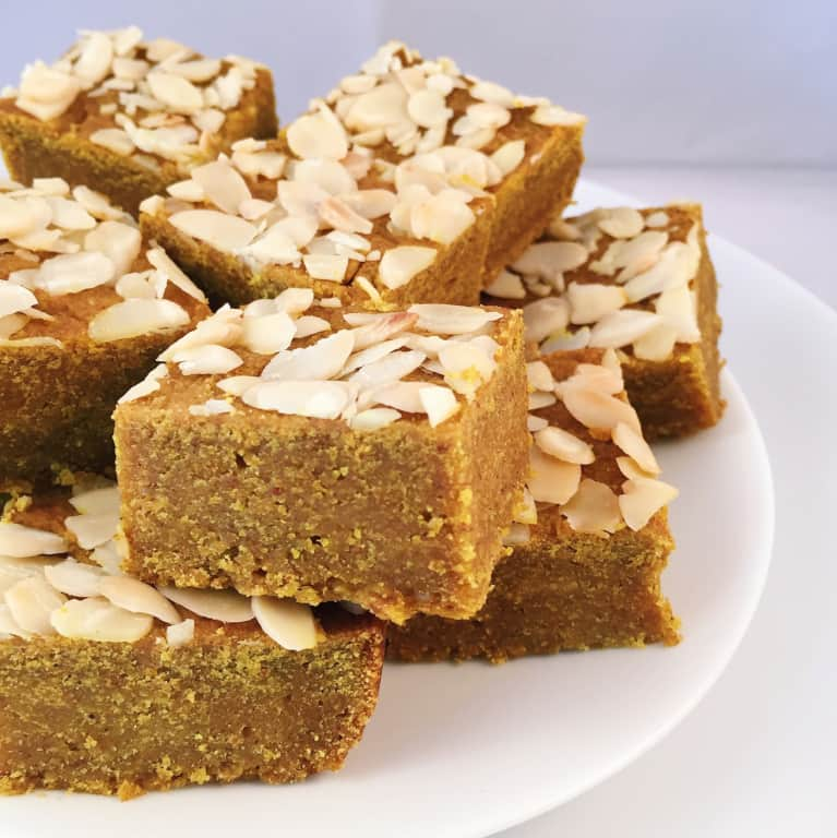 Sweet Treat: Spiced Almond Squares (Vegan + Gluten-Free)