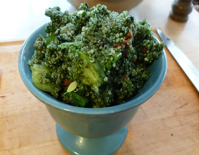 Gluten-Free Recipe: Spirulina Superfood Quinoa Salad