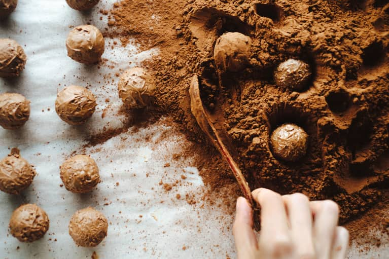 These Sea Salt Chocolate Truffles Might Be The Most Delicious Way To Get Your Daily Probiotics
