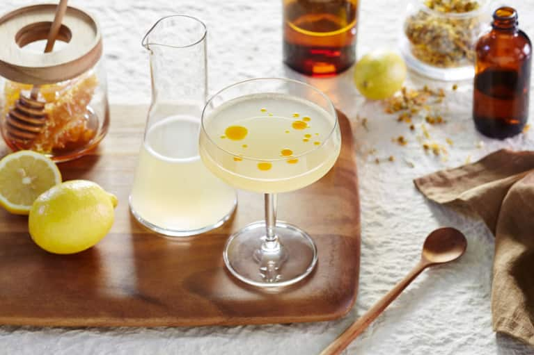 A Turmeric Lavender Mocktail + 3 More Healing Recipes For Dry January