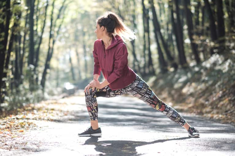 A Warming Workout Routine That's Perfect For Fall