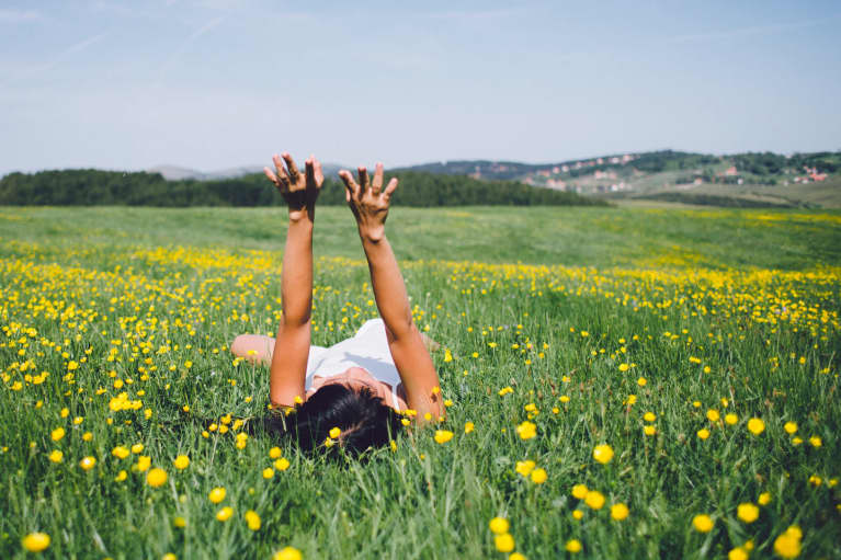 A Mind-Body Routine To Balance Your Chakras This Spring