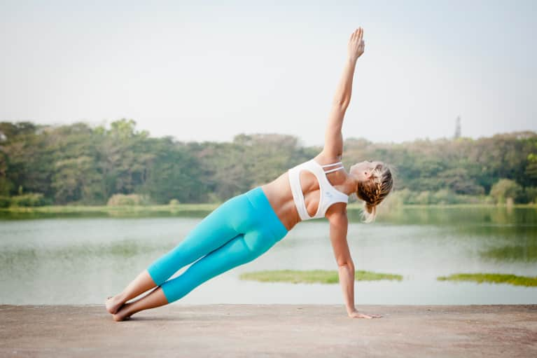 8 Yoga Poses To Develop Strong Chaturanga Arms