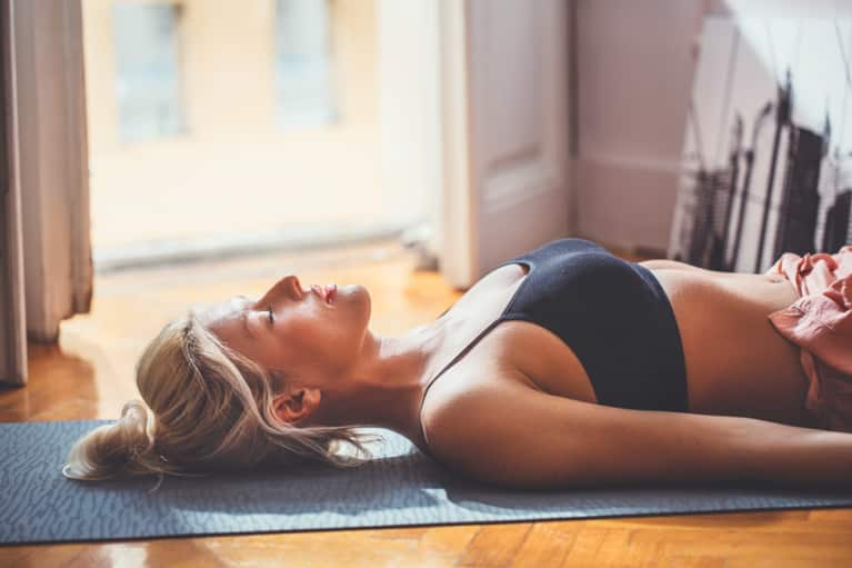 The Savasana-Euphoria Connection You Need To Know About