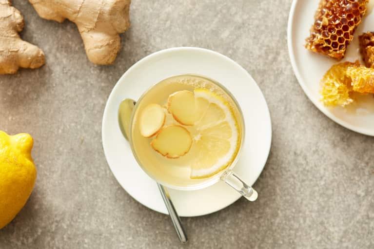 The Best Homemade Ginger Tea Ever