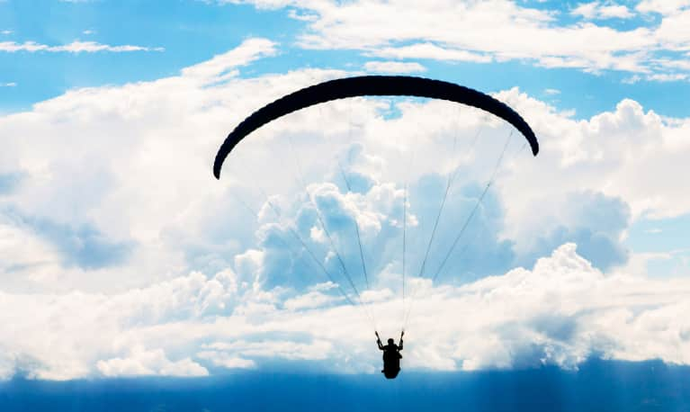 Why This Professional Sky Diver Can't Go A Day Without Yoga