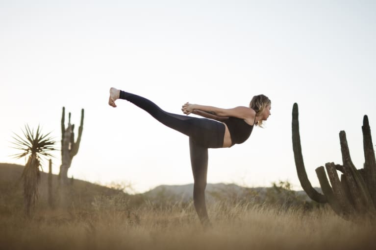 This Yoga Sequence Will Undo All The Damage You Do Staring At Your Phone