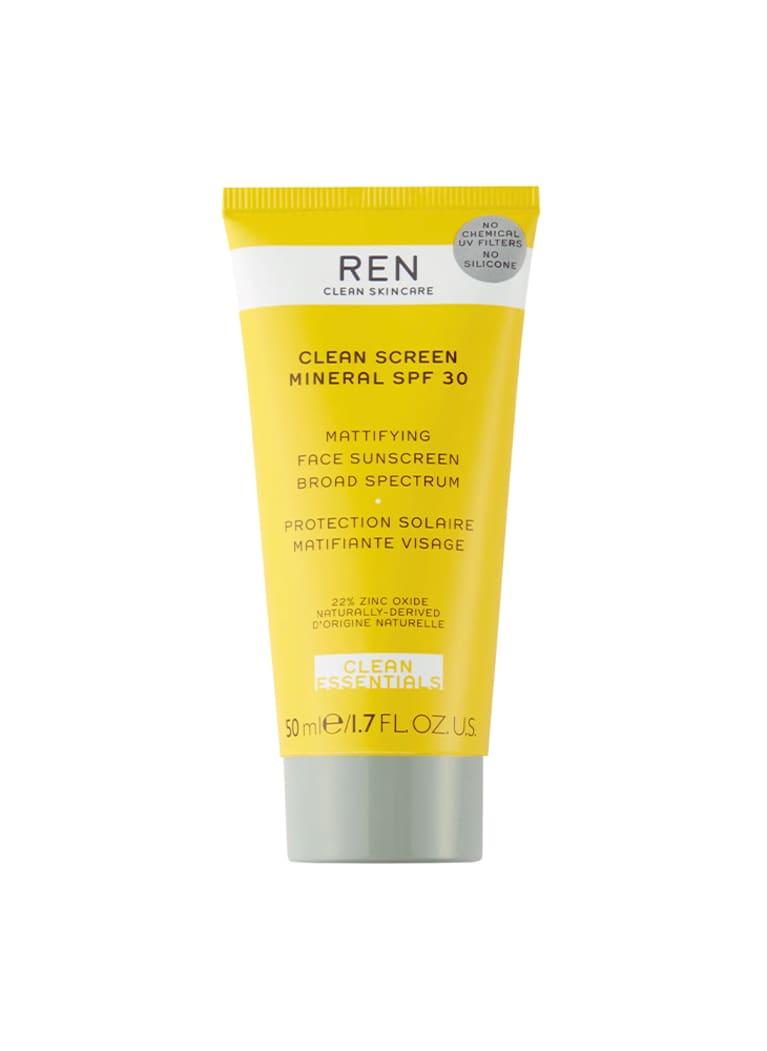REN Clean Skincare Clean Screen Mattifying Face Sunscreen SPF 30