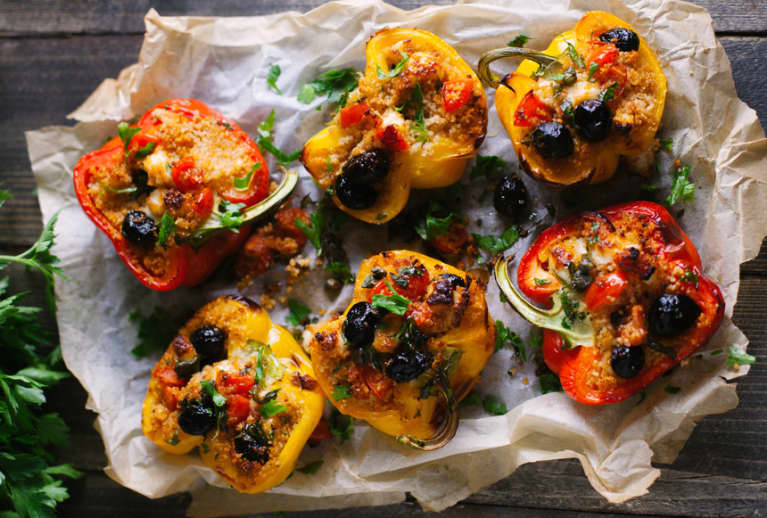 Quinoa-Stuffed Peppers The Whole Family Will Love
