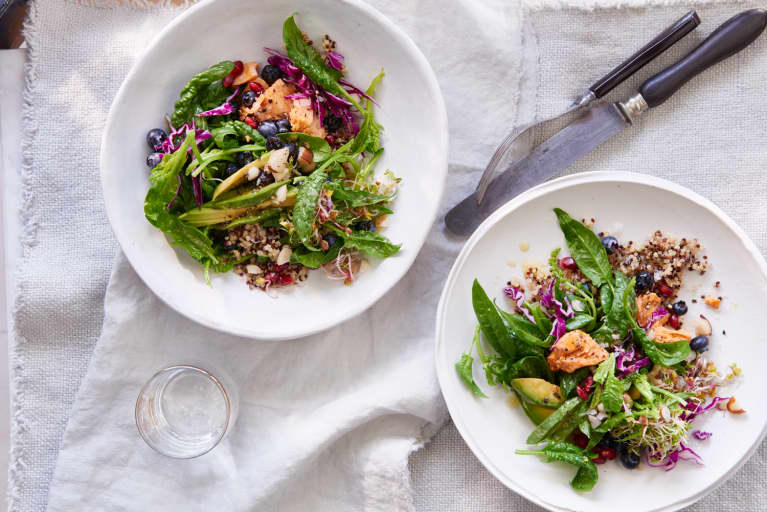 This Superfood Salad Has 2 Secret Ingredients That Reverse Skin Aging
