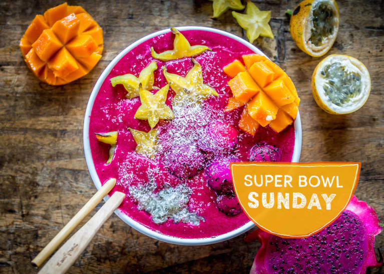 Start Your Morning With A Beet + Dragon Fruit Smoothie Bowl