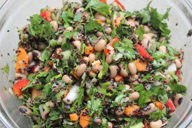 Protein-Packed Summer Salad Bowl (It's Vegan!)