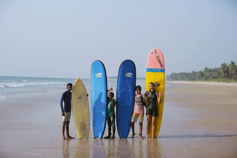 Meet The Surfer Who's Fighting Climate Change From Her Board