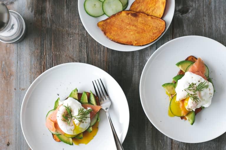 """Genius Gluten-Free Breakfast Idea: Sweet Potato """"Toast"""""""