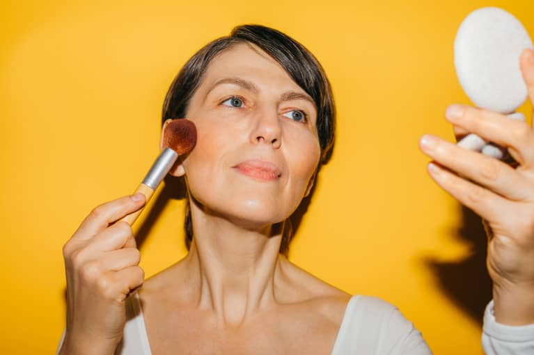 3 Surprising Makeup Artist Tricks For When You Overdid Blush