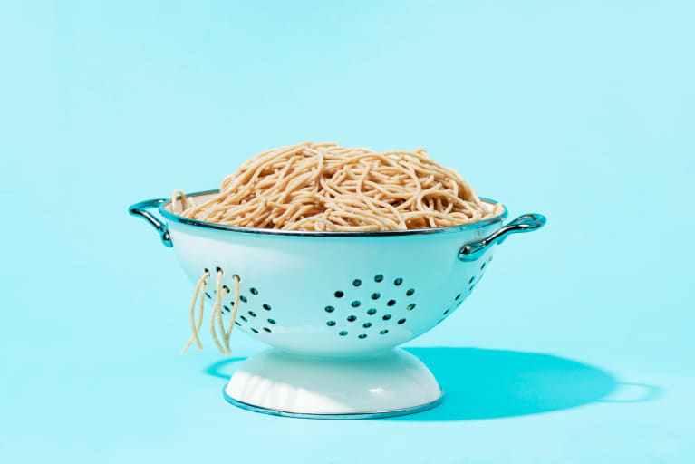 Cooked Wholegrain Spaghetti