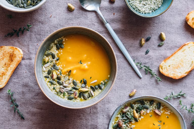 This Anti-Inflammatory Pumpkin Soup Will Warm You Up & Keep You Healthy