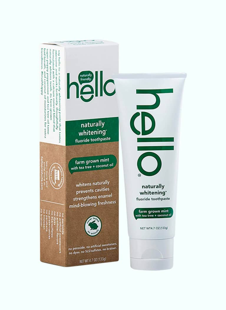 Hello Naturally Whitening Toothpaste