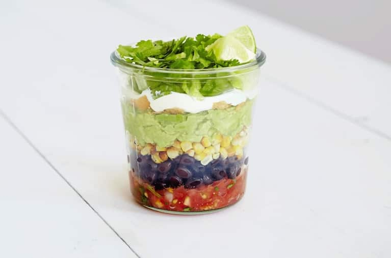 4 Plant-Based Mason Jar Meals For A Lighter Lunch