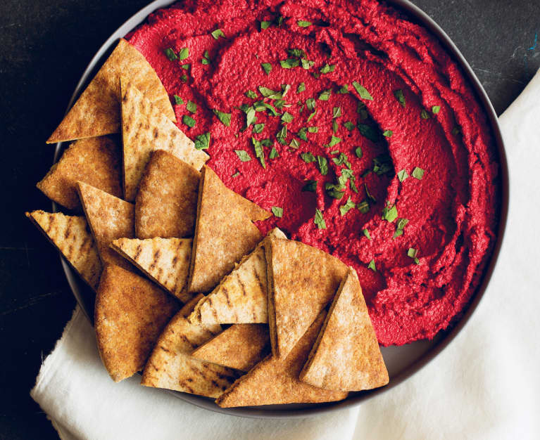 The Tahini + Beet Dip That'll Make You Forget All About Hummus