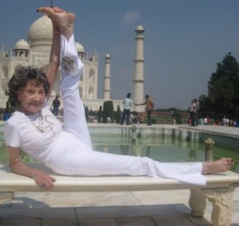 I Celebrated My Birthday With The World's Oldest Yogi