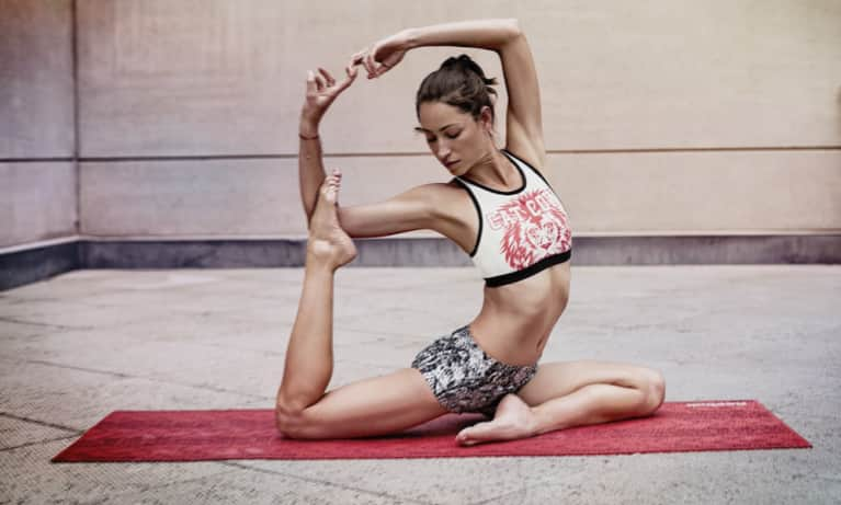 A Detoxing Yoga Routine For Strength