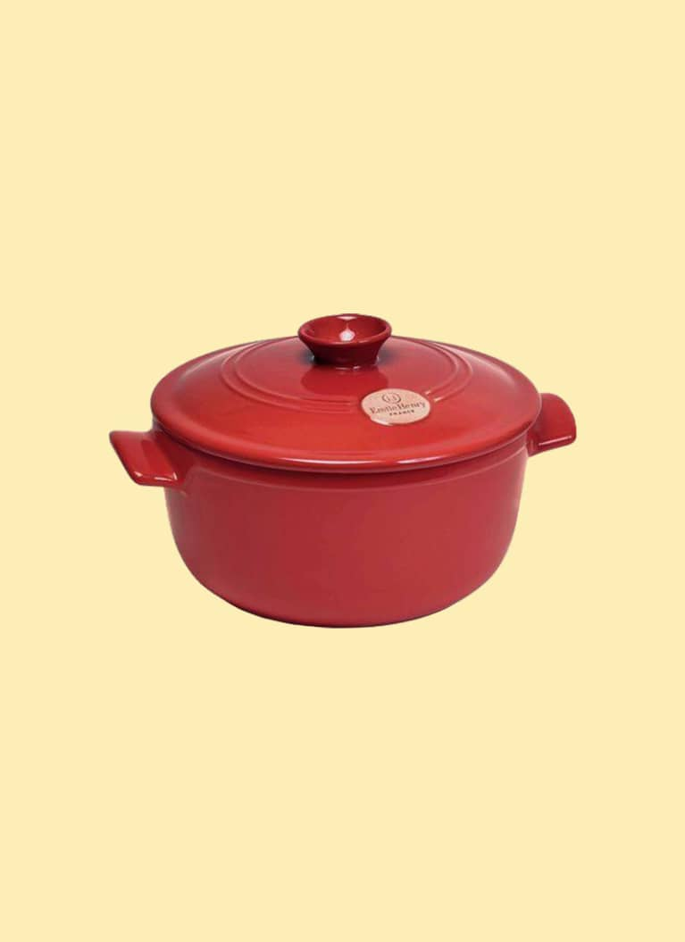 3. For the soup and stew aficionado: Emile Henry Round Dutch Oven
