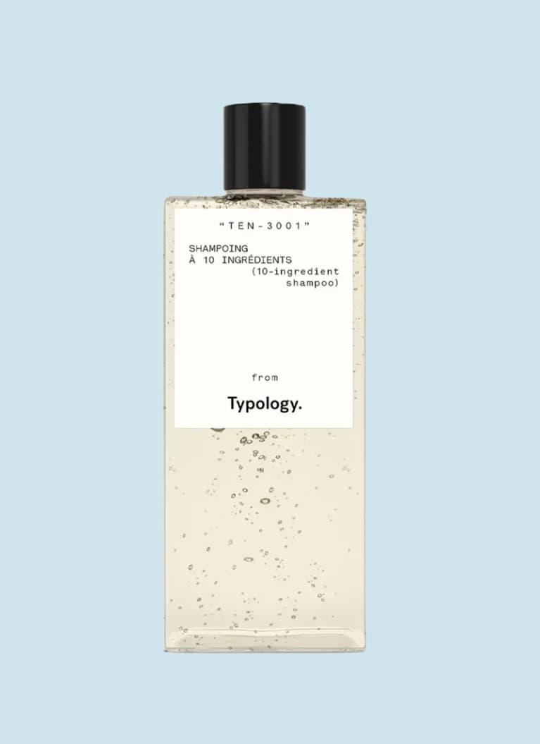 typology 10-free shampoo
