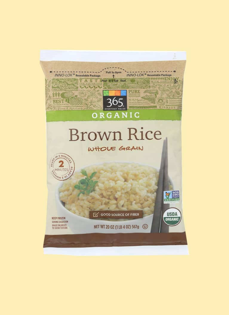 365 Organic Frozen Brown Rice
