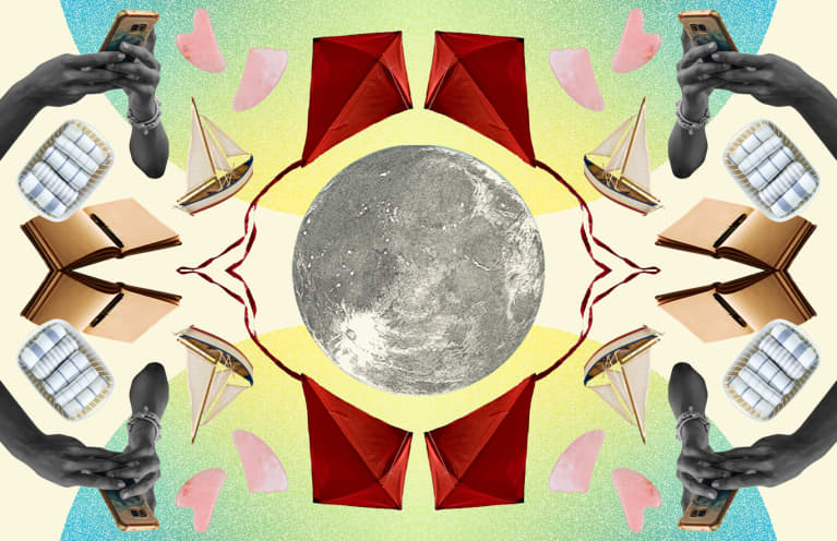 How To Sync Your Self-Care Practice With The Moon, From A Psychologist